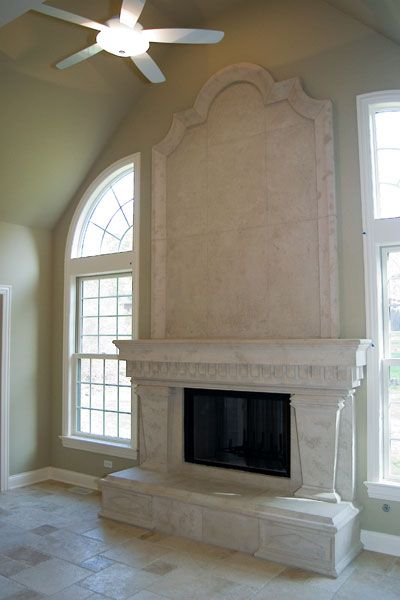 grand ionic cast stone overmantel fireplace new york cast stone fireplace mantels