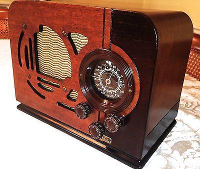 Scarce Goodyear Wings 601 Art Deco Radio Vintage Radio Antique Radio Retro Radios