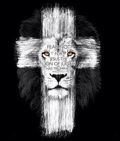 Não temas, porque Jesus, o Leão de Judá, triunfou