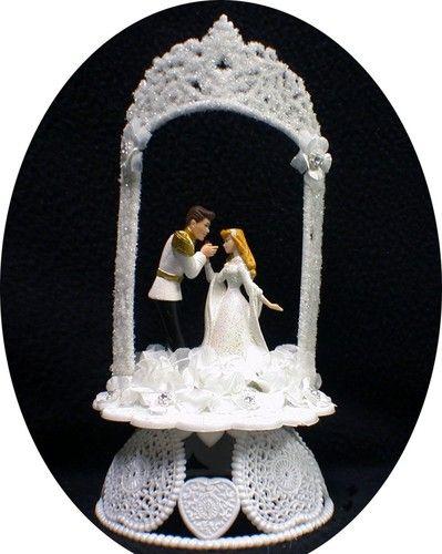 Sleeping Beauty Disney Wedding Cake Topper Top Disney