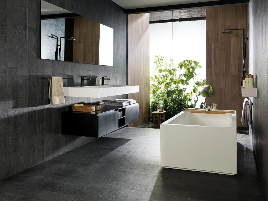 Oxford Black Antfloor Tilesparker Porcelain Wood Look Tiles Pleasing Ants In Bathroom Decorating Inspiration