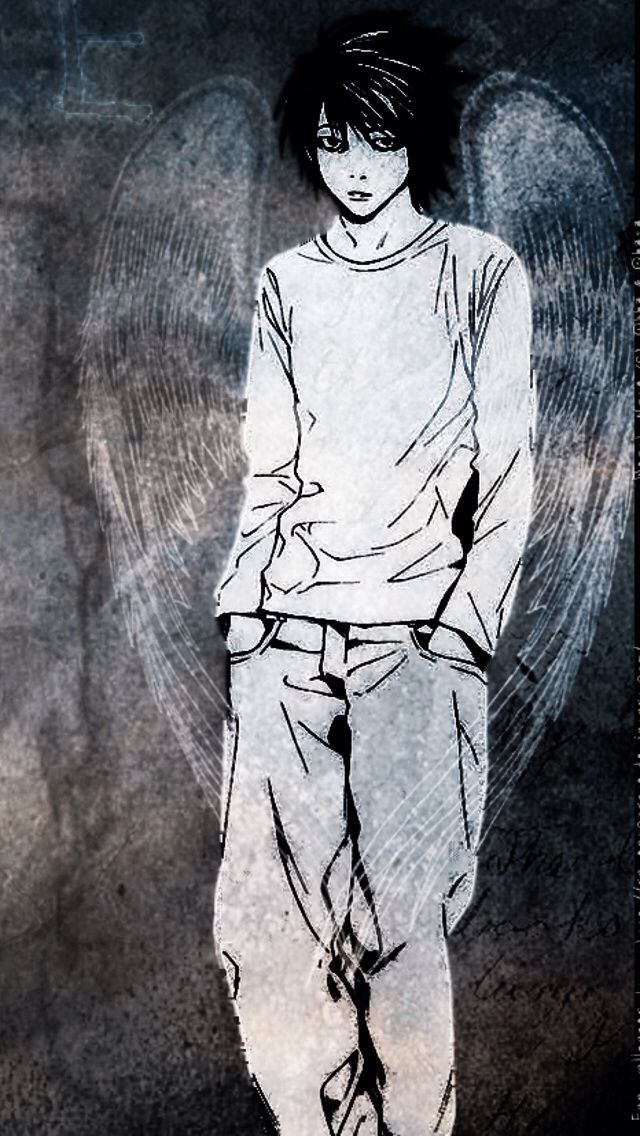 Pin by Rob Allen on Art work I envy | Death Note Manga, Death note wallpaper iphone, Death note l