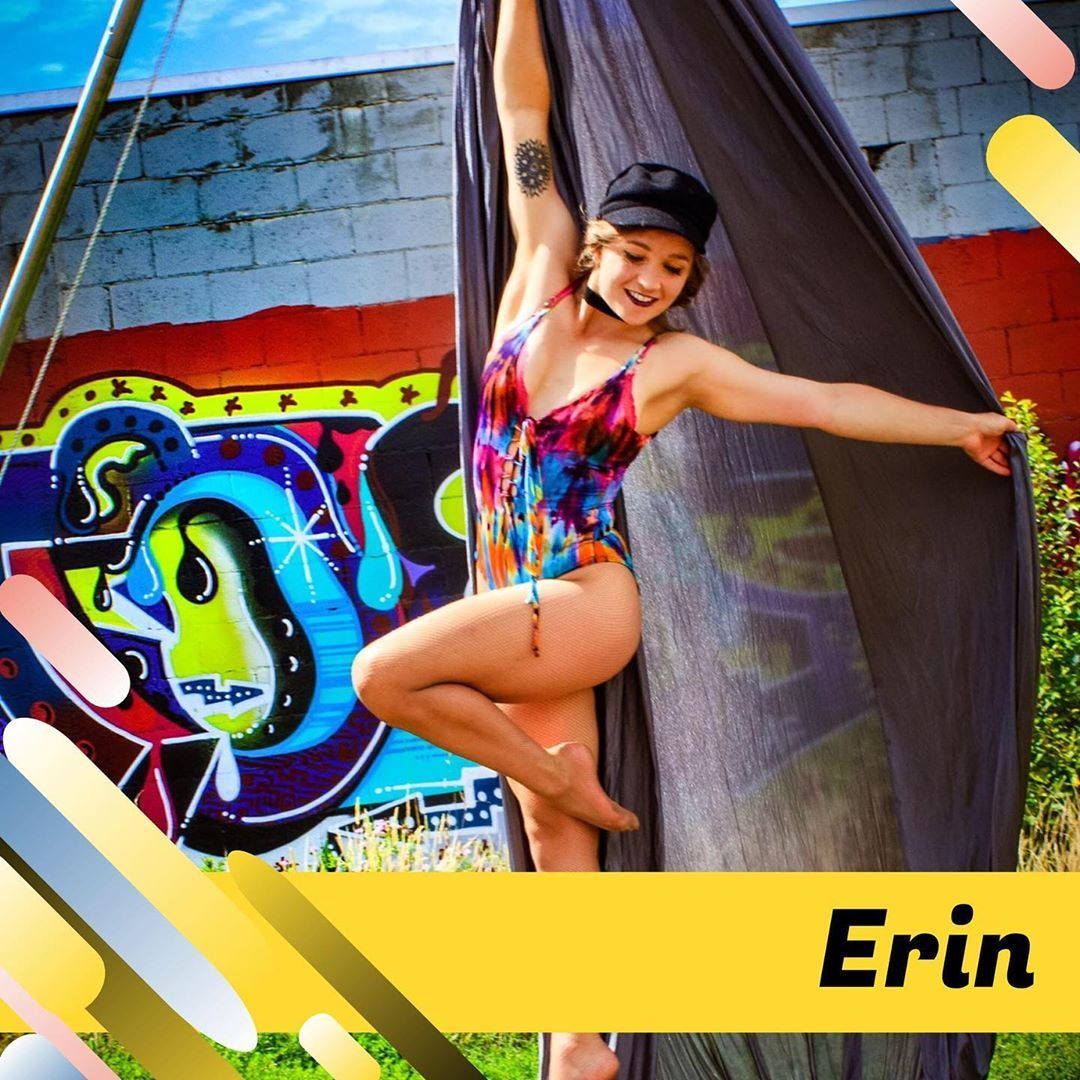 Meet our team! Erin berin bo-berin bo-nana fanna fo ferin is our super-cool circus loving biologist...