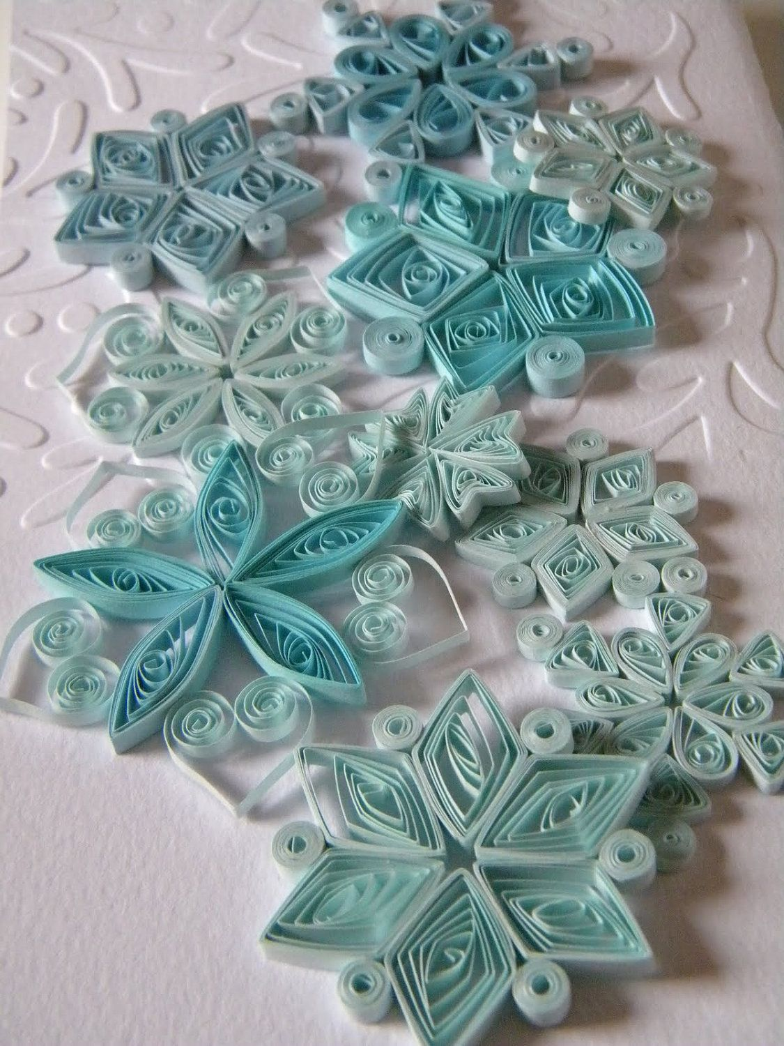 Paper wedding decoration ideas  Paper quilling snowflakes  Paper ornaments  Winter wedding