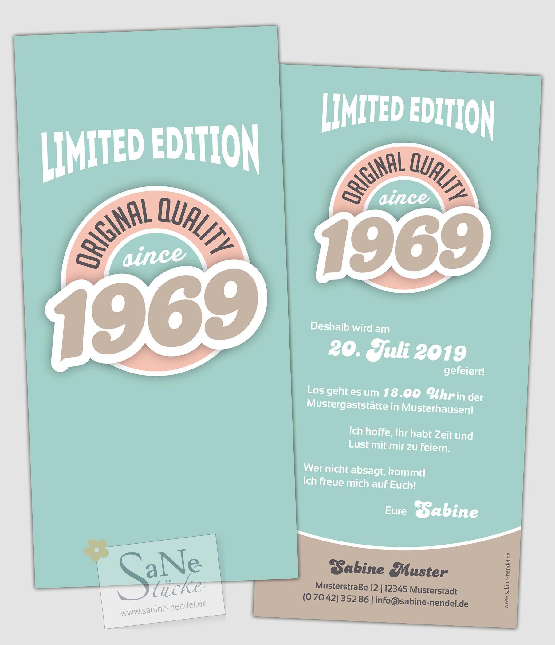 Vintage Jahrgang Geschenkideen Zum 50 Deko Zum 50 Geburtstag