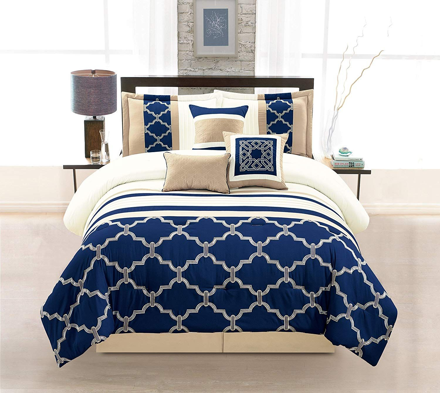 Royal Blue And Navy Bedding Sets Blue And Gold Bedroom Blue Comforter Sets Navy Bed Set Navy blue duvet cover queen