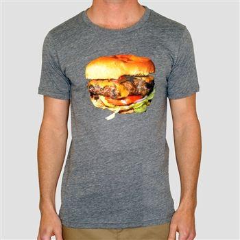Burger tee by Toddland.