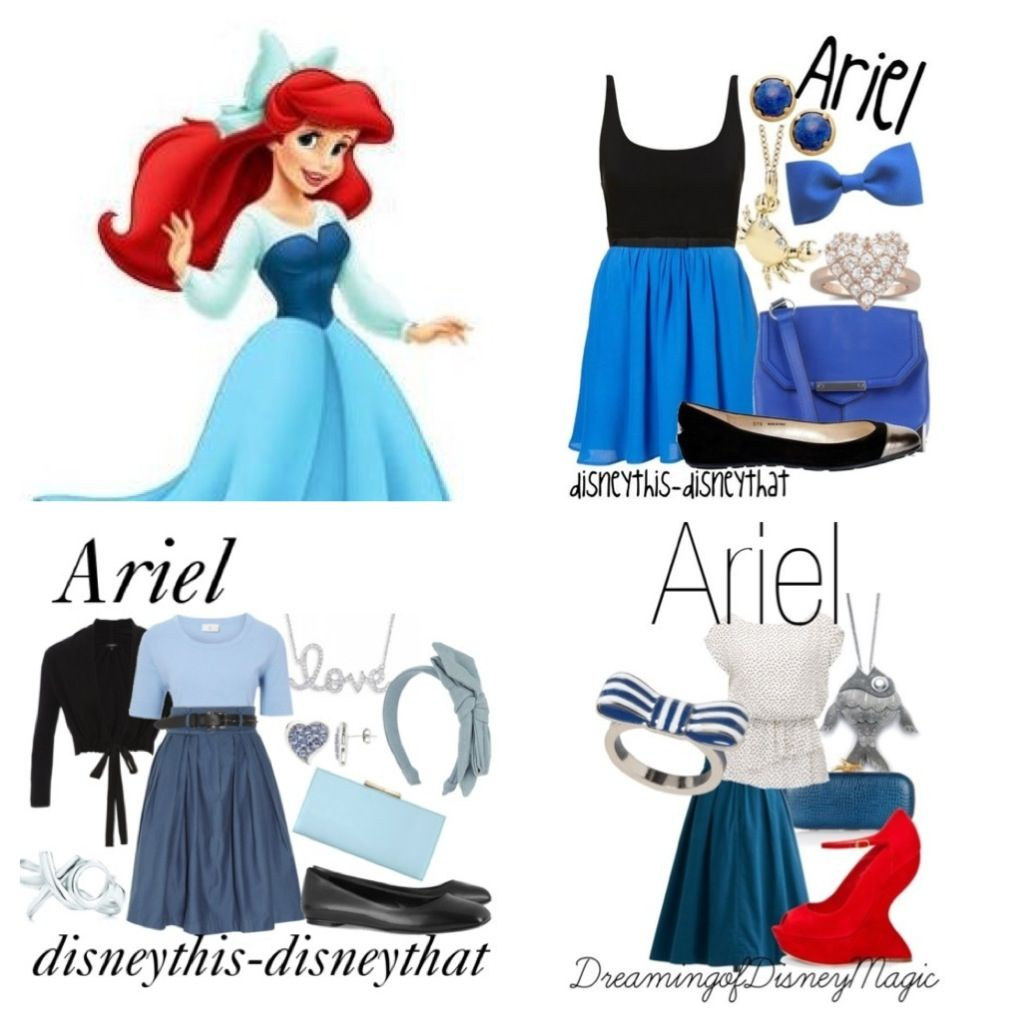 Fashion style Inspired Ariel dress for lady