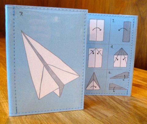 Paper Planes Passport Case (blue)