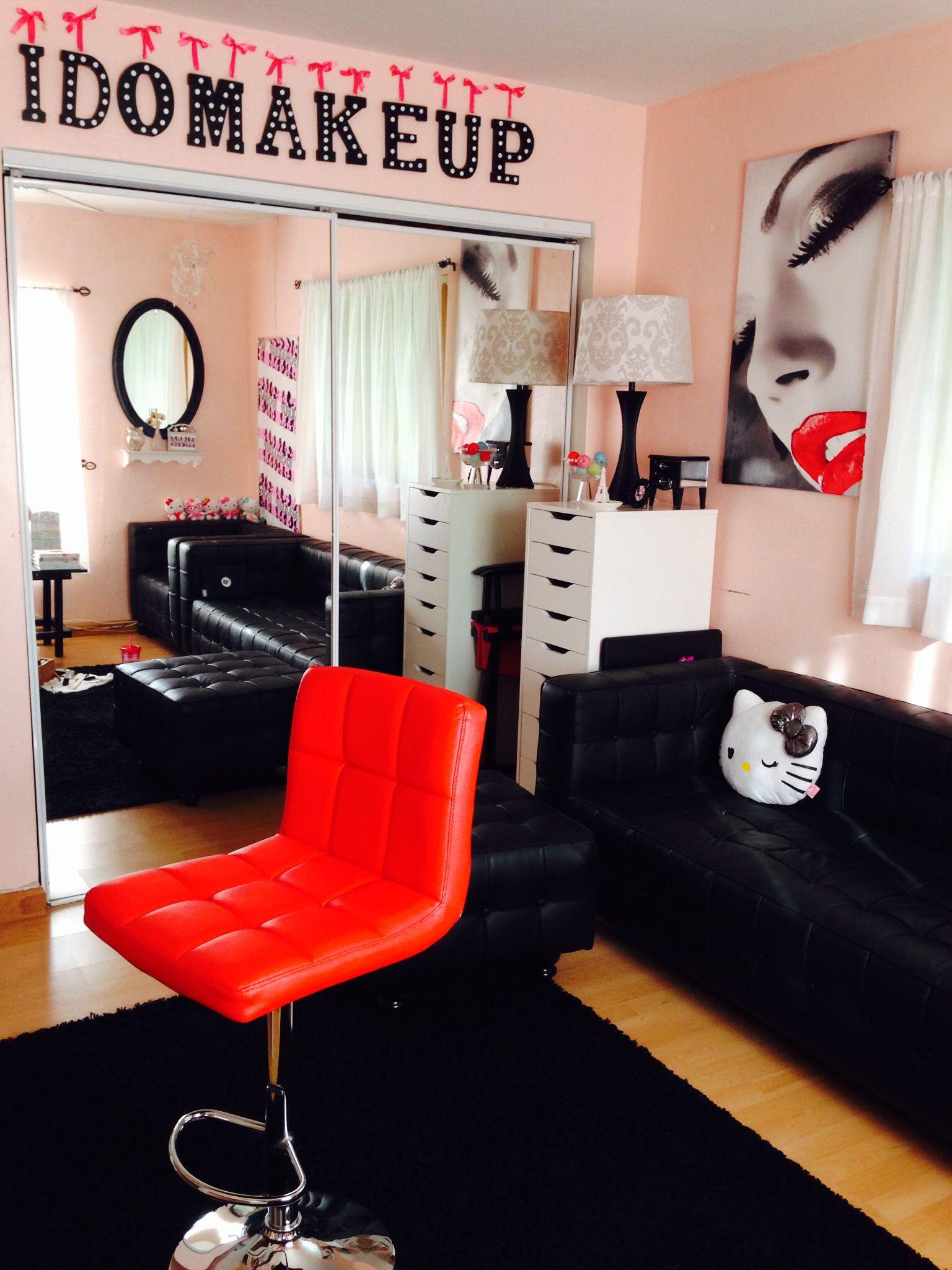 Makeup Studio  Beauty room, Makeup rooms, Makeup studio