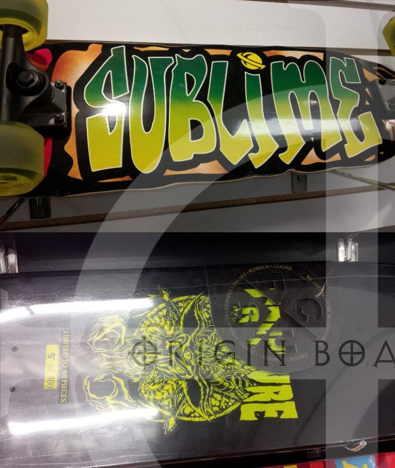 Creature sublime complete skateboards and decks