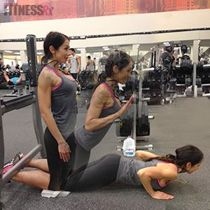 Work those Hammies!! 4 x 12 Lying Hamstring Curl, superset ...