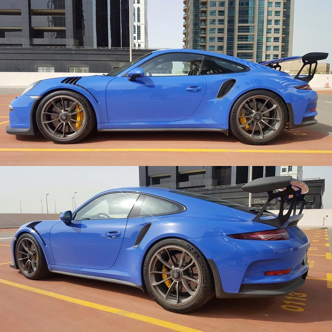 The First Known PTS Maritime Blue GT3 RS For The UAE Has