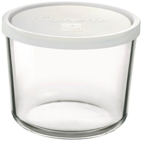 Bormioli Rocco 3 Piece Frigoverre Tall Storage Container Set With Lids By Bormioli Rocco Glass Co In Glass Storage Containers Bormioli Rocco History Of Glass