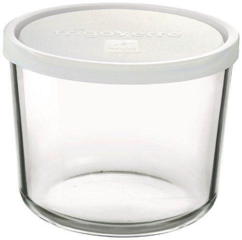 Bormioli Rocco 3 Piece Frigoverre Tall Storage Container Set With Lids By Bormioli Rocco Glass Co In Glass Storage Containers Bormioli Rocco History Of Glass