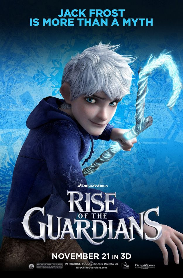Rise Of The Guardians Jack Frost Poster The Guardian Movie Jack Frost Rise Of The Guardians