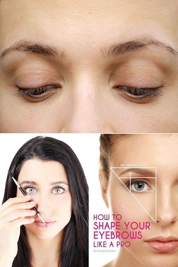Thick Eyebrows   Professional Eyebrows   Eyebrow Arch ...
