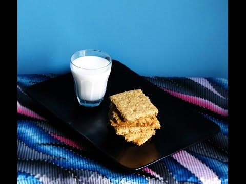Homemade Digestive Biscuitsطريقة عمل بسكوت دايجستف British Food Food Glass Of Milk