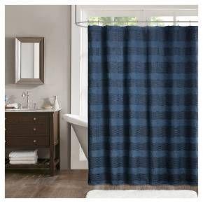 Porter Jacquard Shower Curtain Target