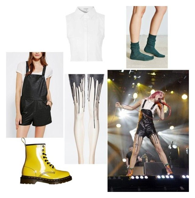 """Hayley Williams"" by tmntloverxd ❤ liked on Polyvore featuring mode, Glamorous, Dr. Martens, Sparkle & Fade, women's clothing, women, female, woman, misses et juniors"