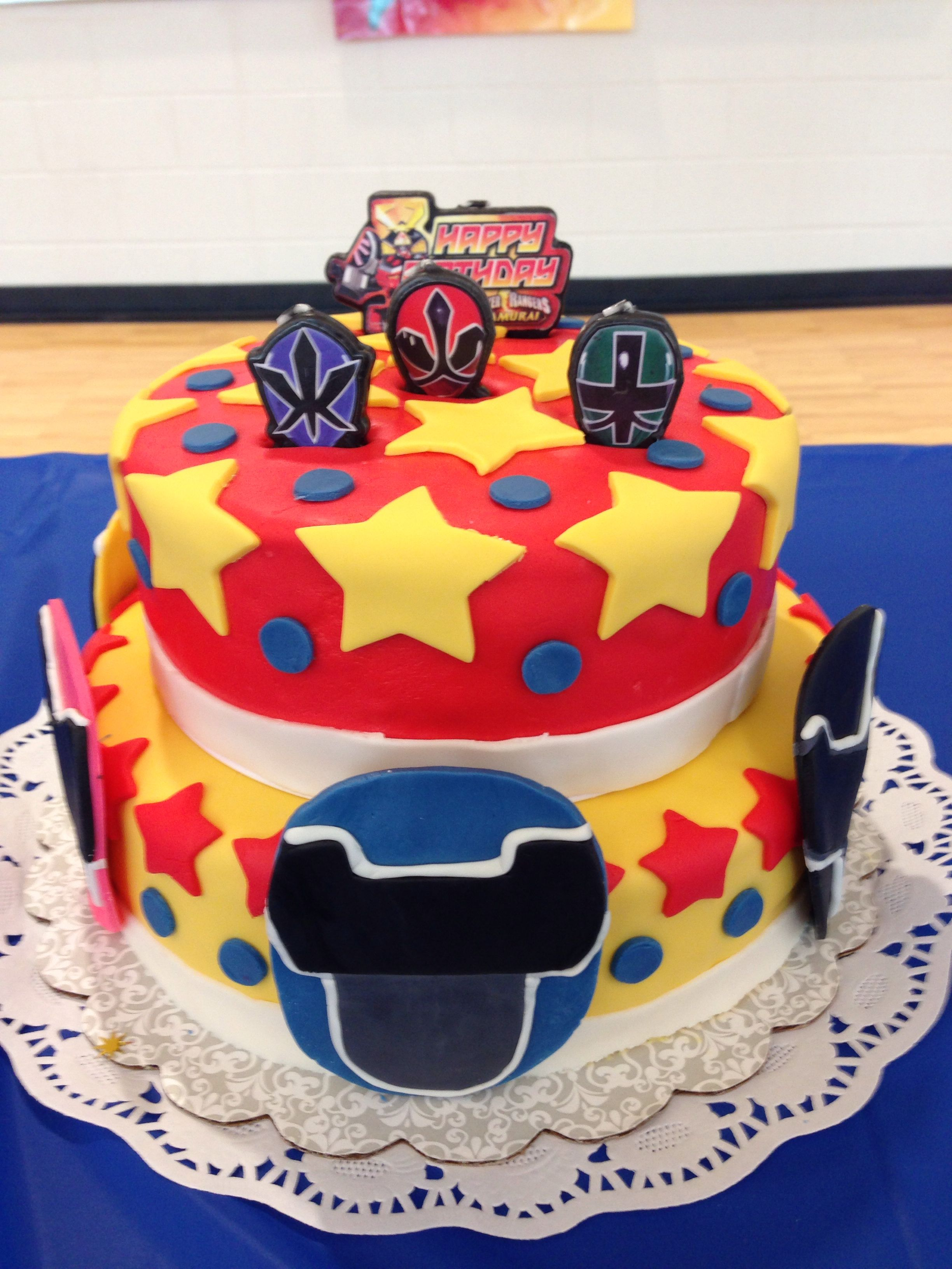 Power Rangers Birthday Cake I Could Make This So Much Cuter Laura