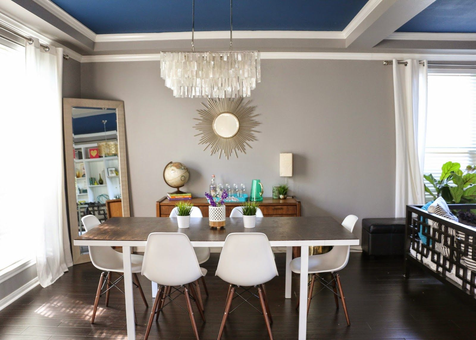 A $60 Mid Century Modern Ikea Dining Table Hack  Ikea Dining Awesome Ikea Glass Dining Room Table Design Inspiration