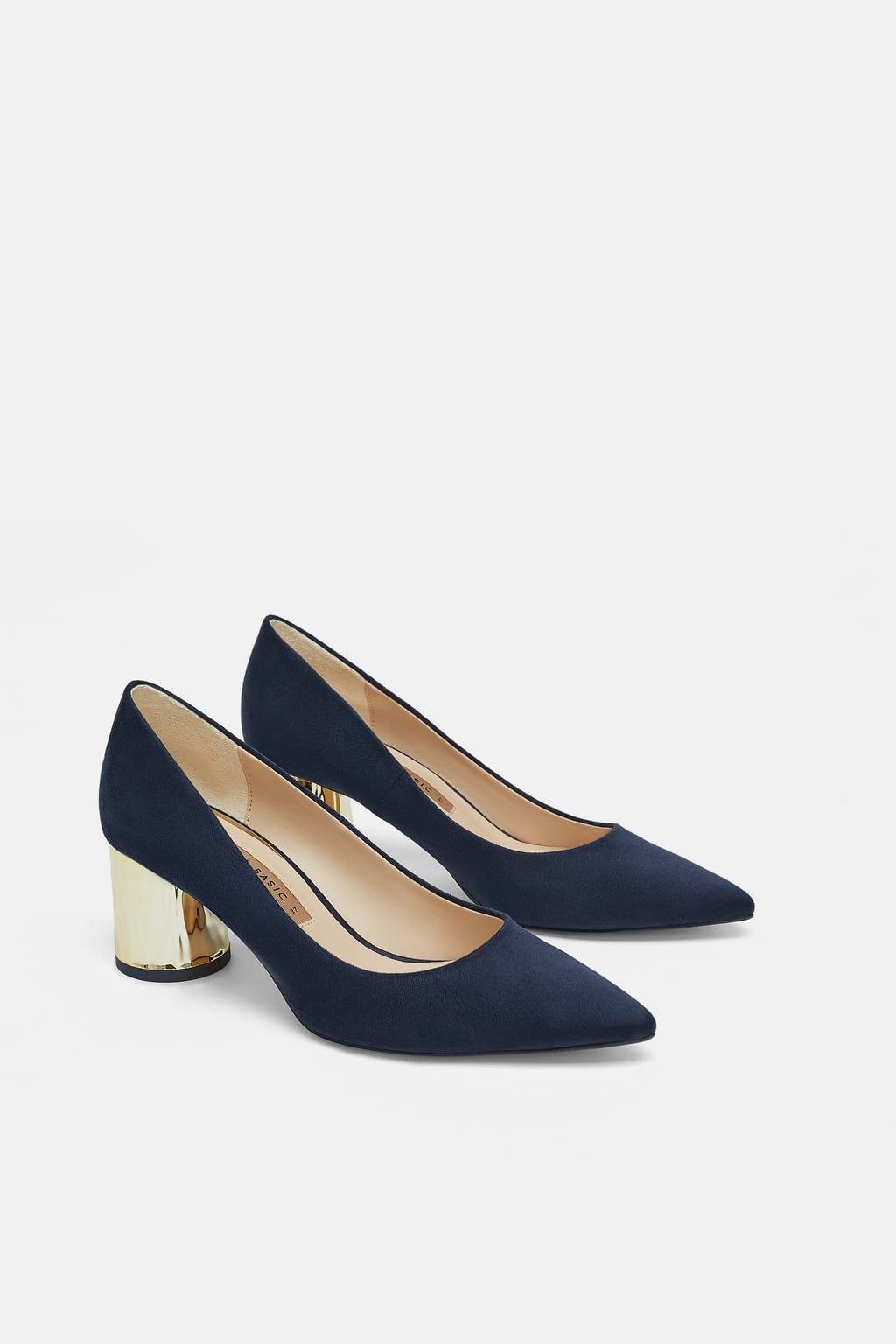 d163549830f Image 3 of LAMINATED HIGH HEEL COURT SHOE from Zara Court Shoes
