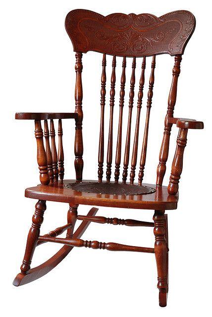Antique wooden rocking chair | Bedroom #4 | Pinterest ...