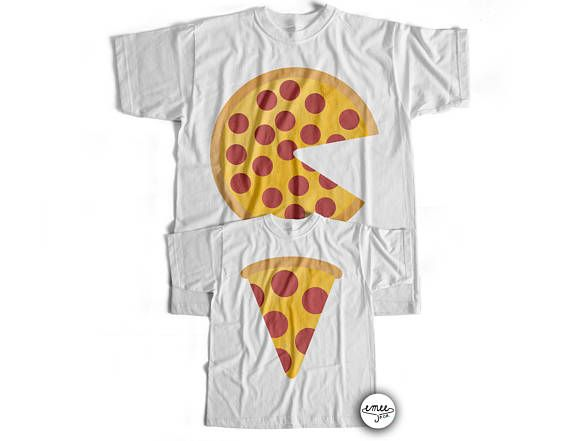 afb62abf0 Matching Pizza Shirts dad & baby shirts dad and son matching | A big ...