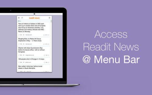 Readit News App for Reddit News News Productivity Mac