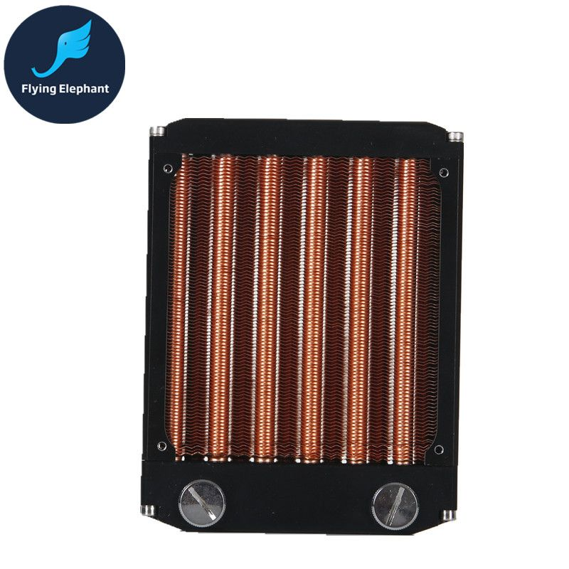 Radiator Water Cooler Radiator 90mm G1 4 Aluminum For Computer