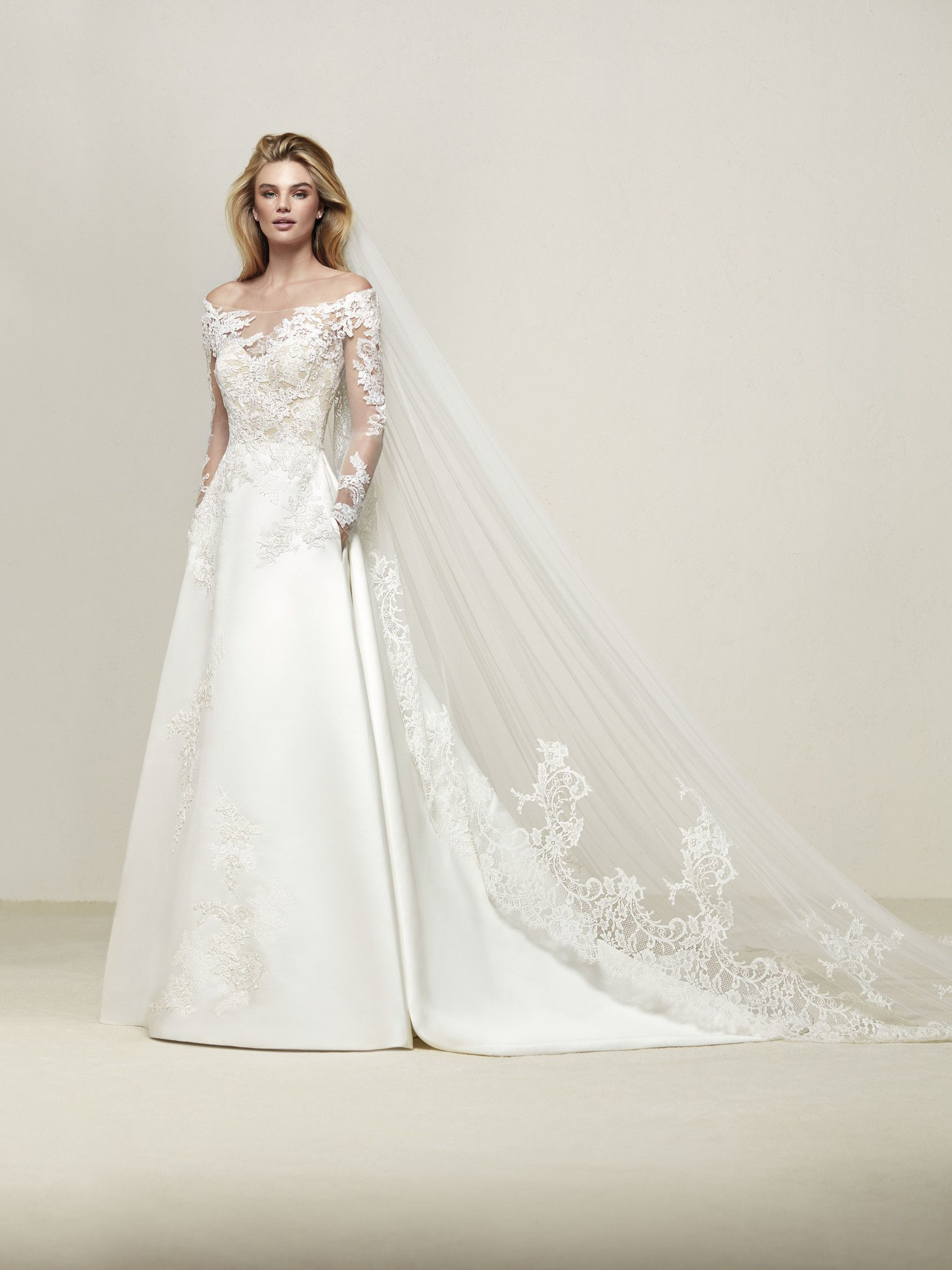 Some dresses just have that charm, like this romantic flared design ...