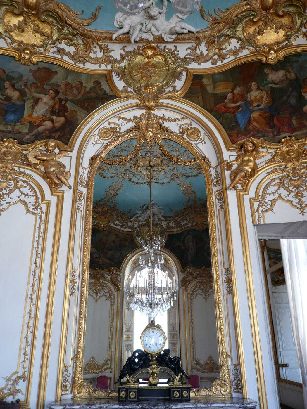 H tel de soubise salon de la princesse paris high for Salon design paris