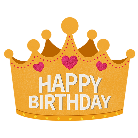 Happy Birthday Crown Png Transparent Image Digital Instant Download Upcrafts Design In 2021 Birthday Hat Png Happy Birthday Crown Birthday Hat