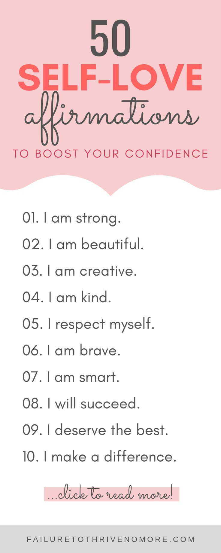 Affirmations To Boost Your Confidence