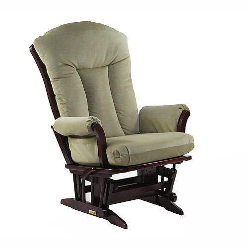 Tremendous Dutailier Cherry Grande Lr Rocker With Sage Micro Fiber Lamtechconsult Wood Chair Design Ideas Lamtechconsultcom