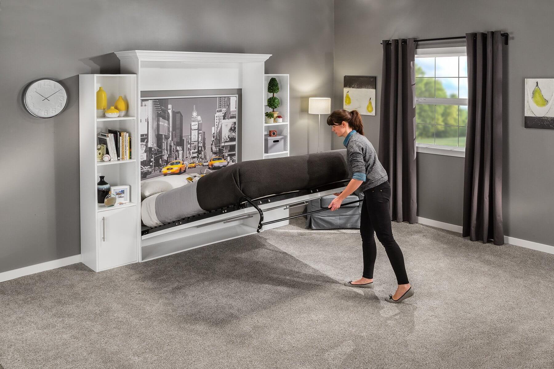 DIY Modern Murphy Bed Complete Guidelines [StepbyStep