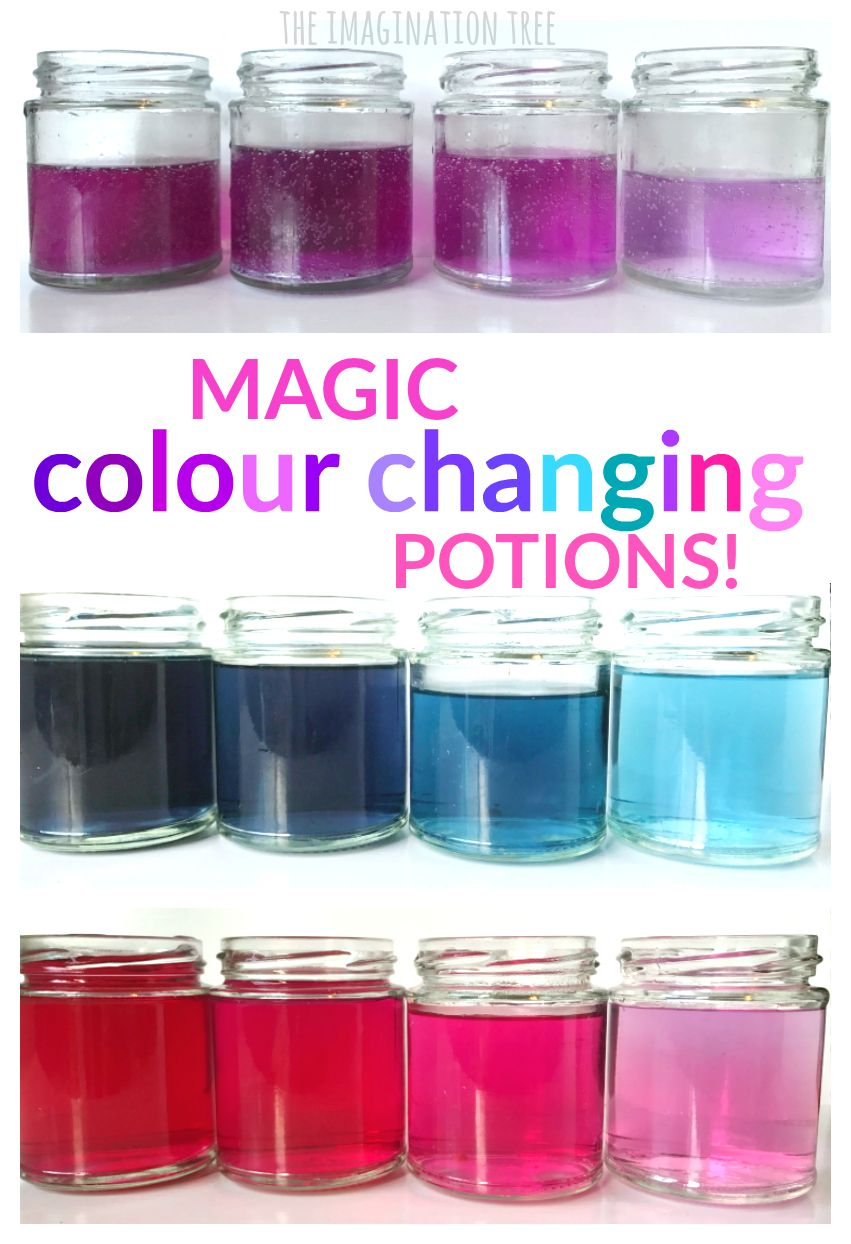 Play Kitchen For Toddlers Under Mount Sinks Magic Colour Changing Potions Science Activity | Stem ...