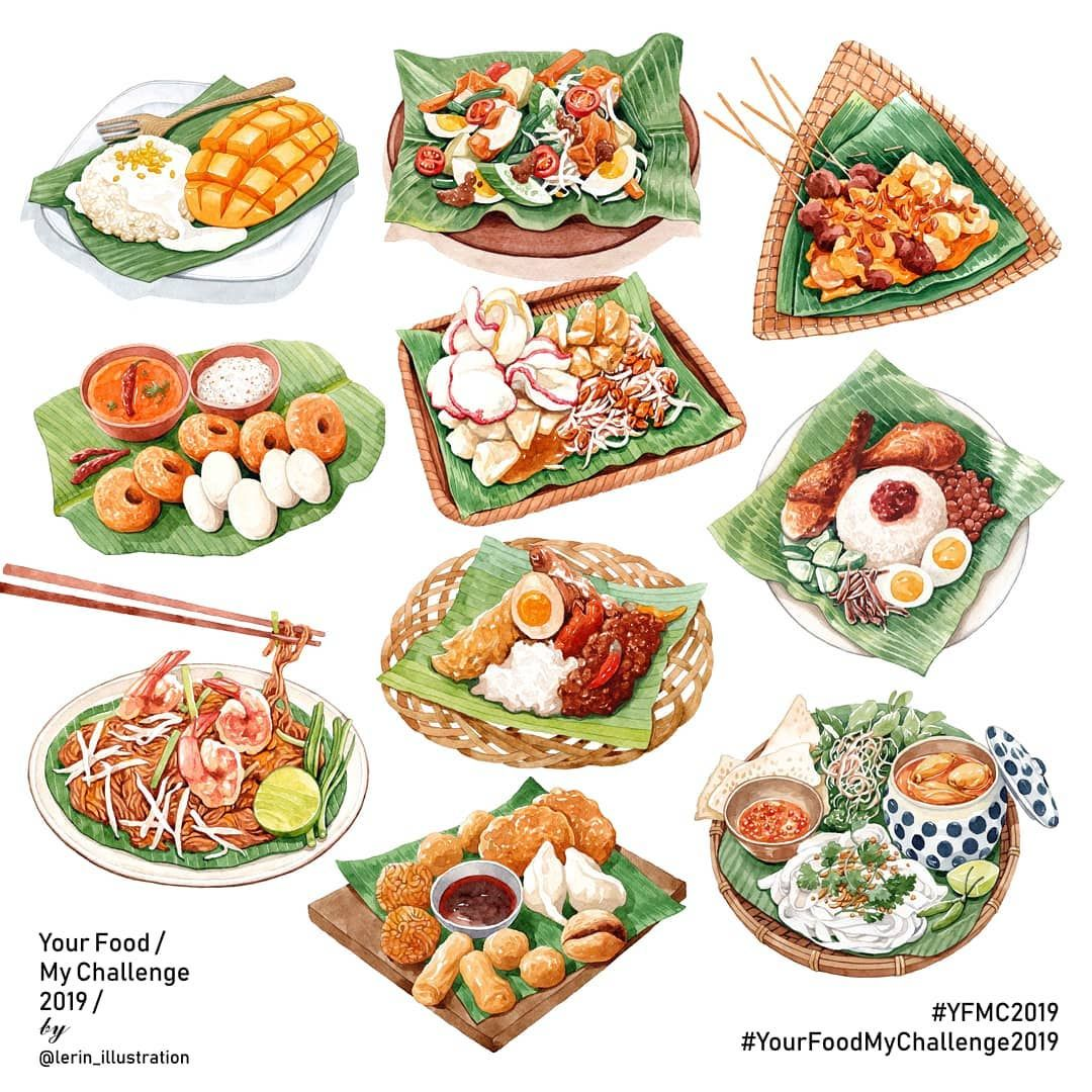 """𝗠𝘆 𝗻𝗮𝗺𝗲 𝗶𝘀 𝗟𝗲 𝗥𝗶𝗻   ริน on Instagram: """"Asian dishe"""