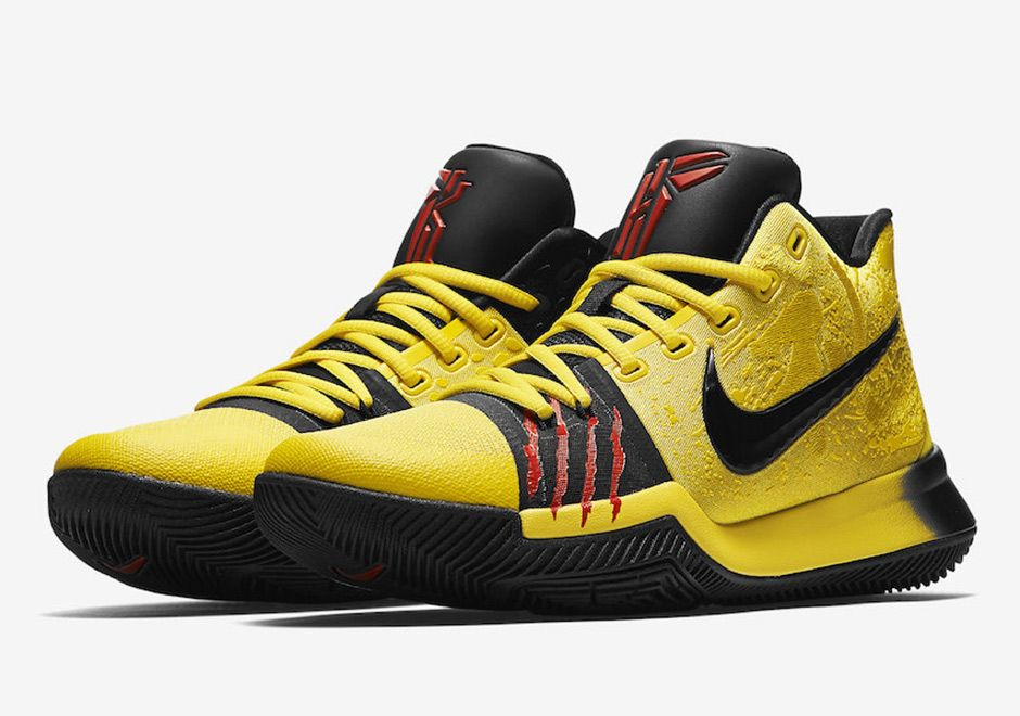 big sale c806a 1348f The Nike Kyrie 3 Bruce Lee (also known as the Mamba Mentality colorway)