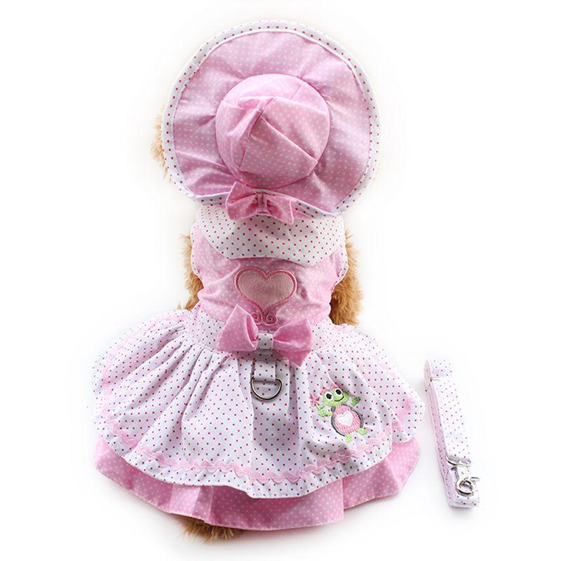 Cheap Tienda Armi Perro Vestidos Vestido de Princesa Color Rosa Para ...