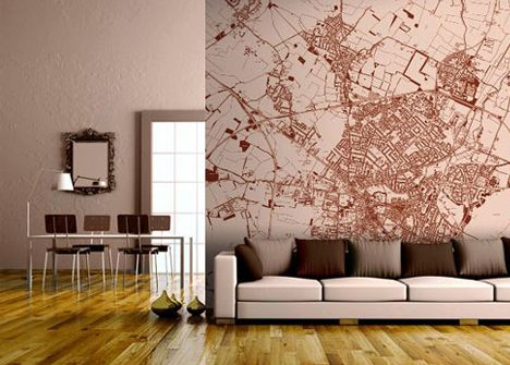 Custom Wall Decor wallpapered/maps.html lets you zoom into a specific location