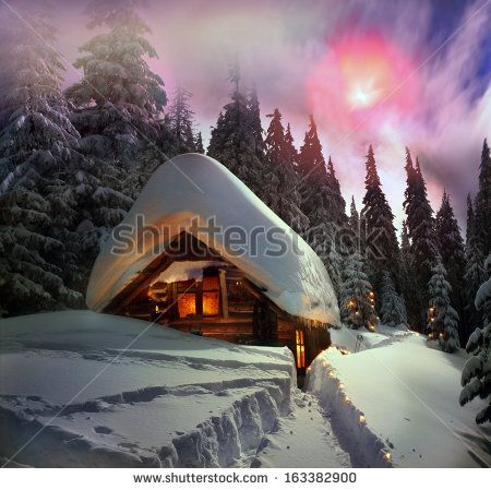 Winter Cabin Stock Photos, Images, & Pictures | Shutterstock