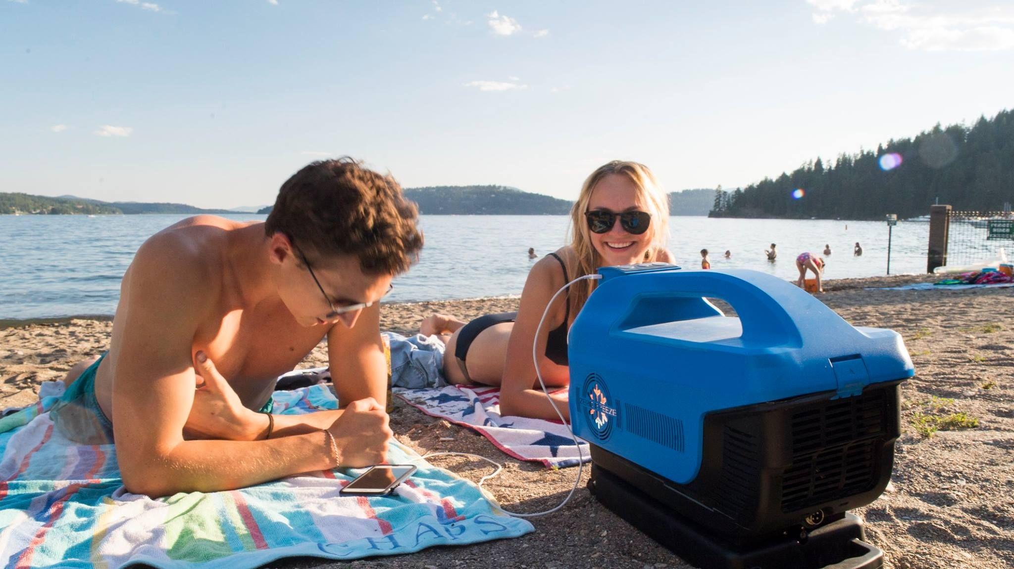 Zero Breeze, A BatteryPowered Portable Air Conditioner