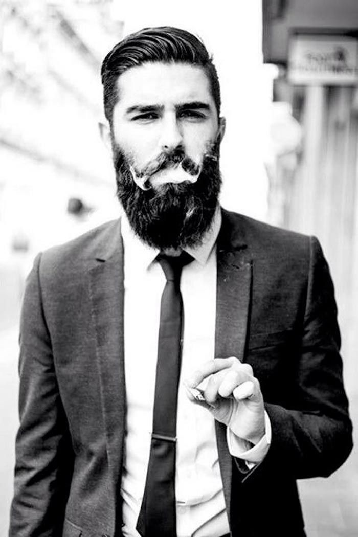 Astounding 1000 Images About Beards And Hair On Pinterest Short Hairstyles Gunalazisus