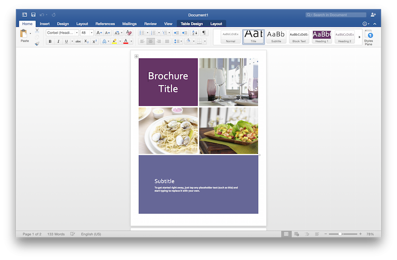 Microsoft Updates Office 2016 for Mac Preview with Updated