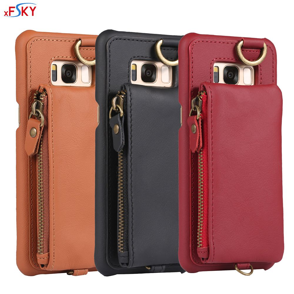 Xfsky Back Case For Galaxy S8 Plus Multi Function Phone Cover Nillkin Synthetic Fiber Samsung Automotive Specific Genuine Leather Protective Wallet Shop Now Xmas