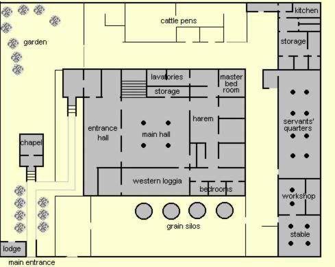 Floor plan of an upper class home at amarna ancient egypt fara floor plan of an upper class home at amarna ancient egypt ccuart Choice Image
