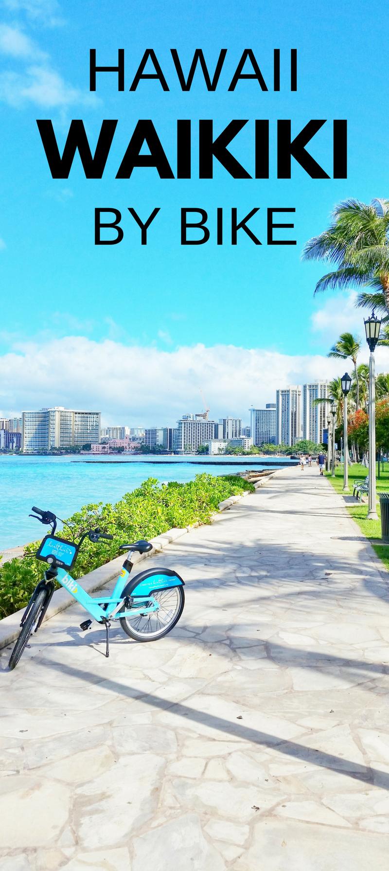 Waikiki Biking Bike rentals in Waikiki with bike sharing