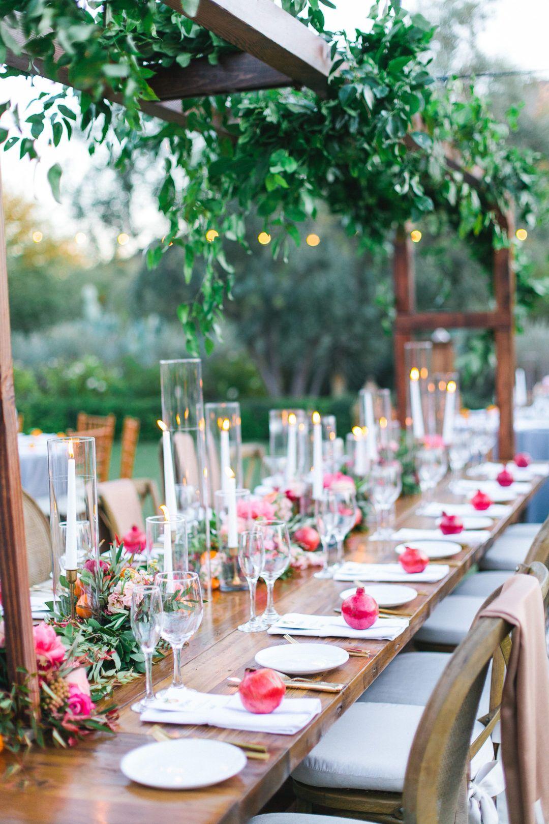 A Garden And Citrus Inspired Wedding Enchanted Garden Wedding